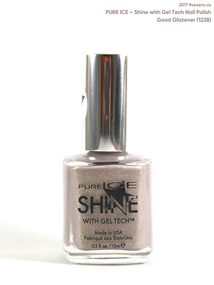 Pure Ice Shine with Gel Tech Nail Polish in Good Glistener