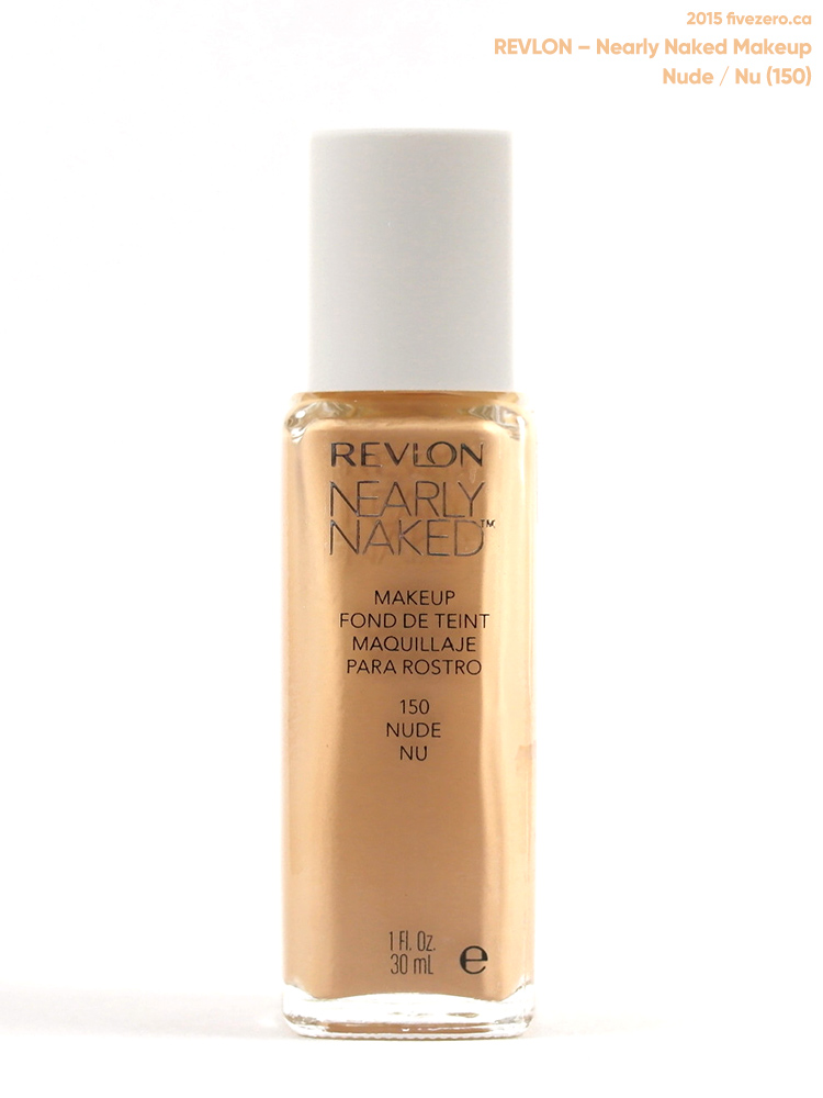 Revlon Nearly Naked Makeup in Nude (150)