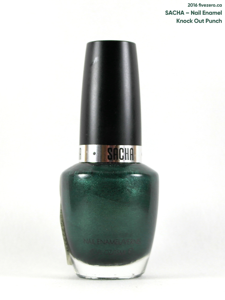 Sacha Nail Enamel in Knock Out Punch