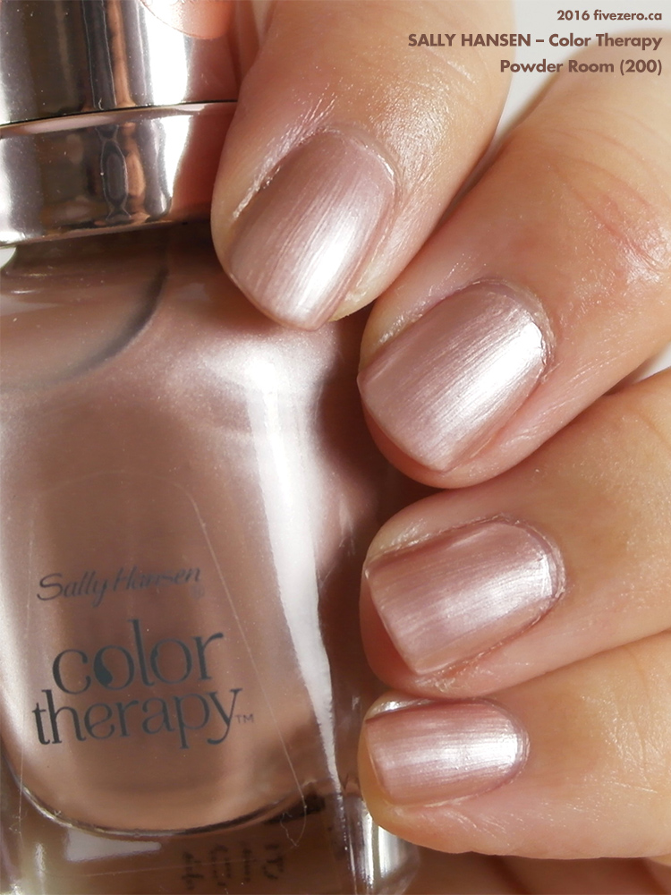 Sally Hansen Color Therapy in Powder Room, swatch