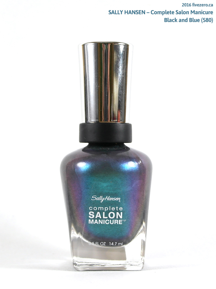 Sally Hansen Complete Salon Manicure in Black and Blue