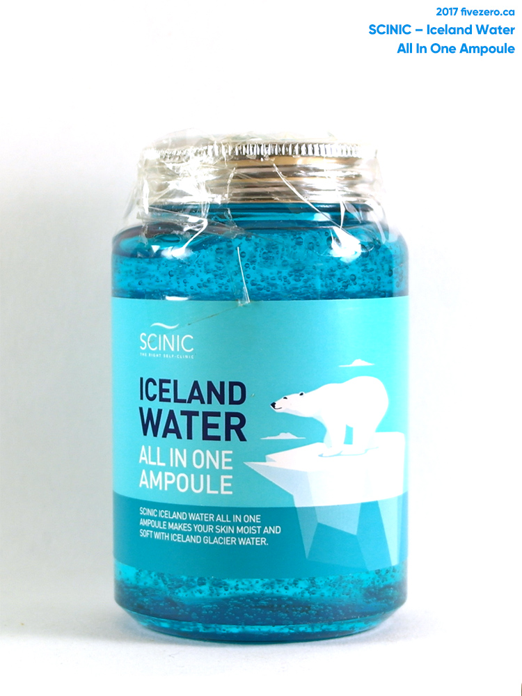 Scinic Iceland Water All In One Ampoule