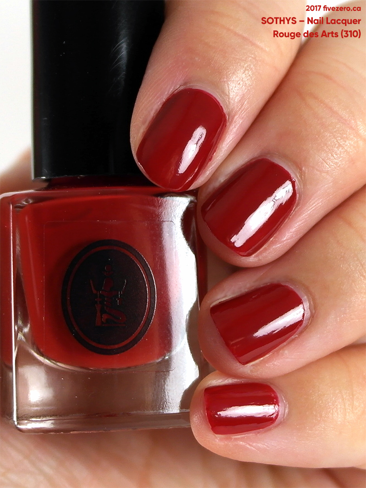 Sothys Nail Lacquer in Rouge des Arts