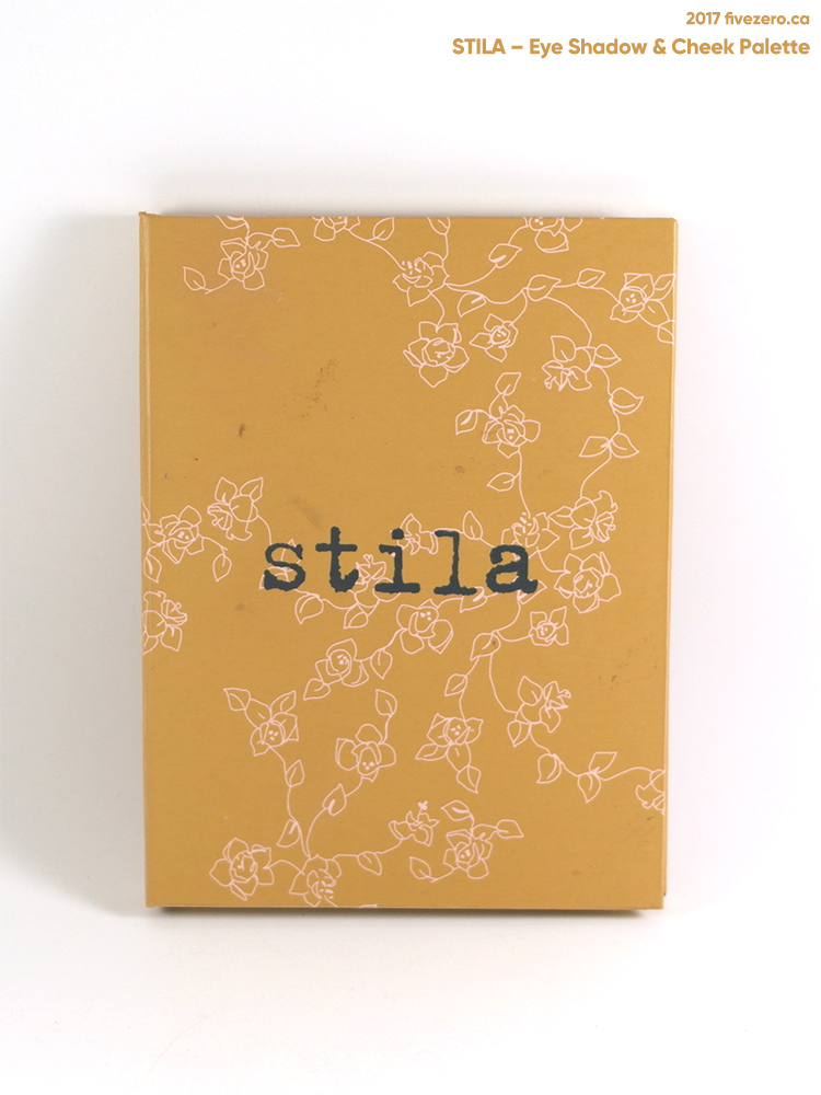 Stila eye shadow & cheek palette