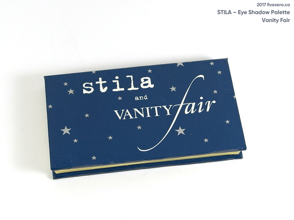 Stila Vanity Fair eye shadow palette