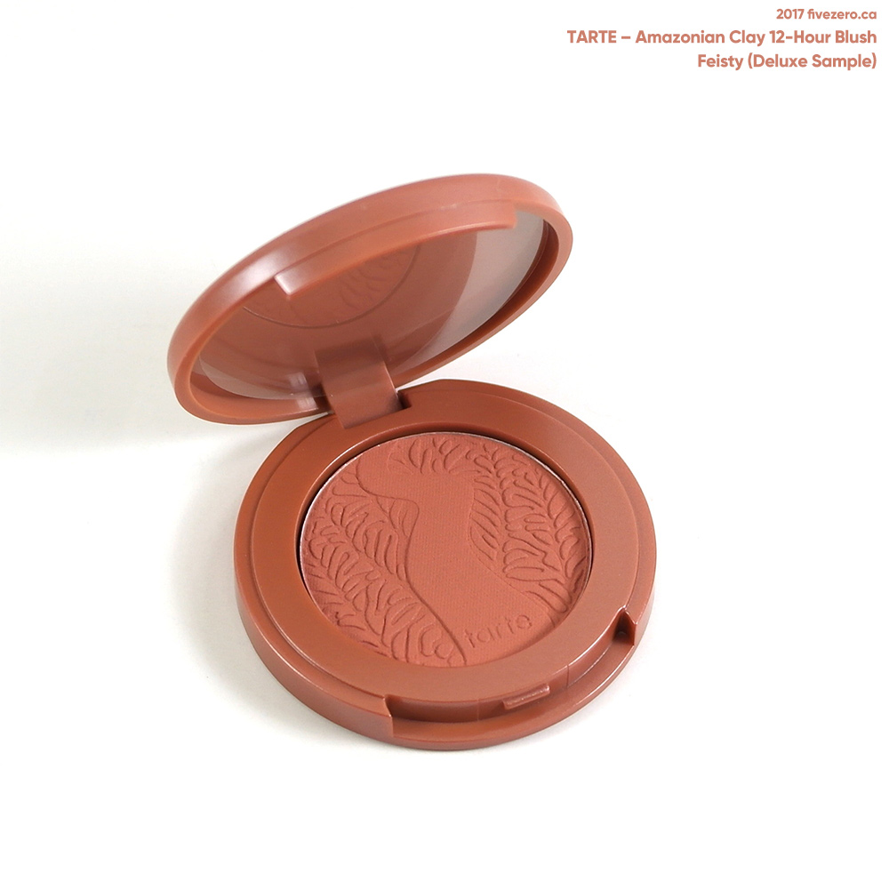 tarte–Amazonian Clay 12-Hour Blush in Feisty (deluxe sample)