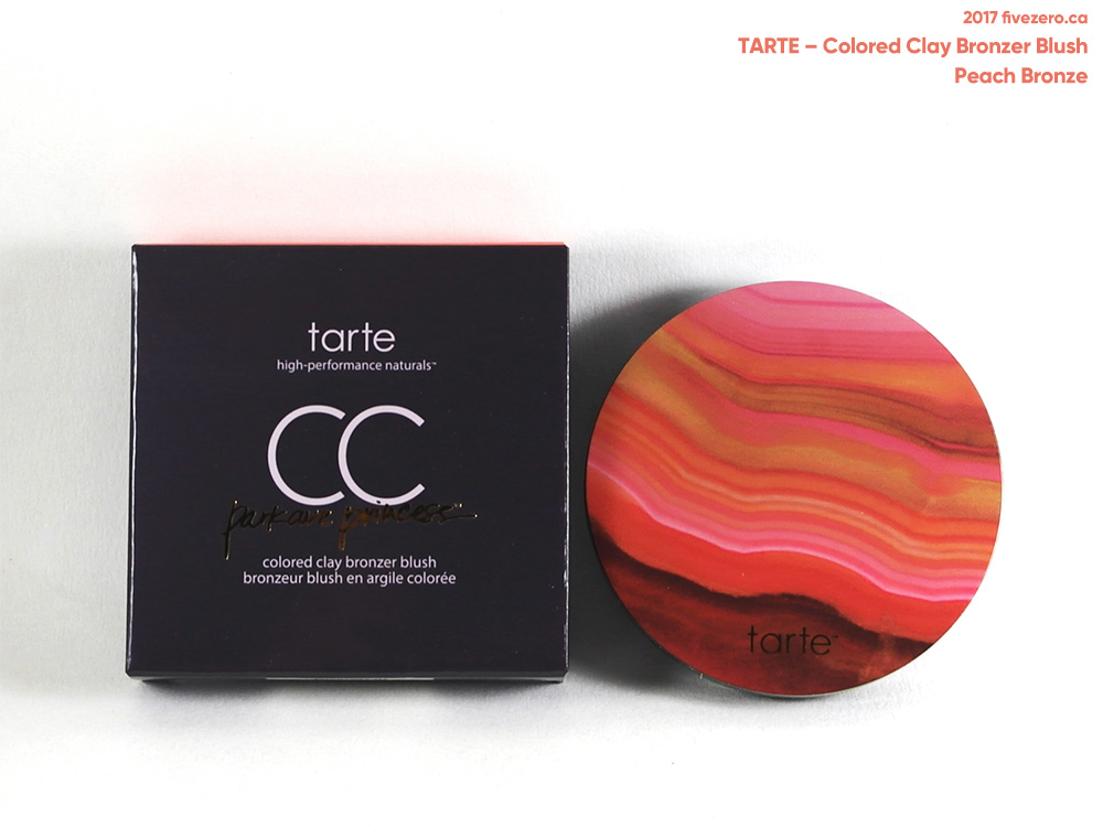 tarte Colored Clay Bronzer Blush in Peach Bronze