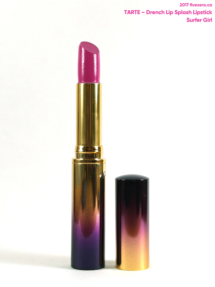 tarte Drench Lip Splash Lipstick in Surfer Girl