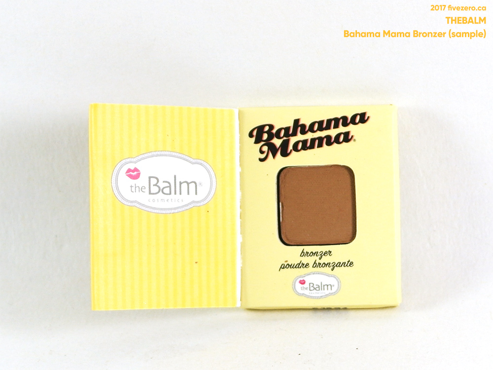 theBalm — Bahama Mama Bronzer, Shadow & Contour Powder (sample)