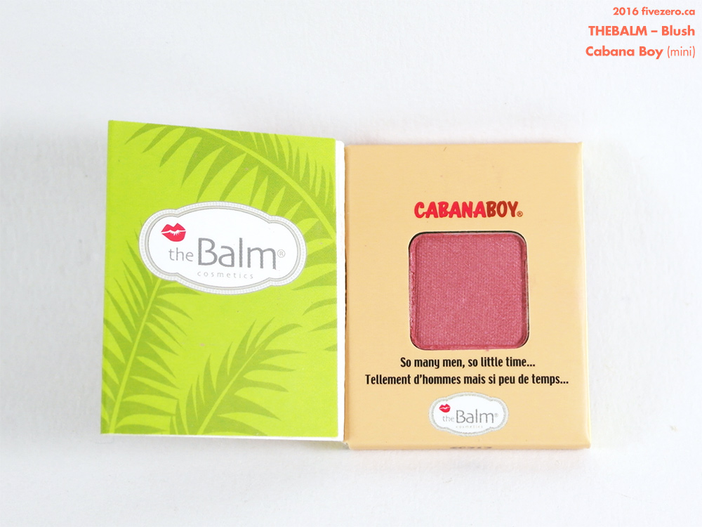 theBalm Blush in Cabana Boy (mini)