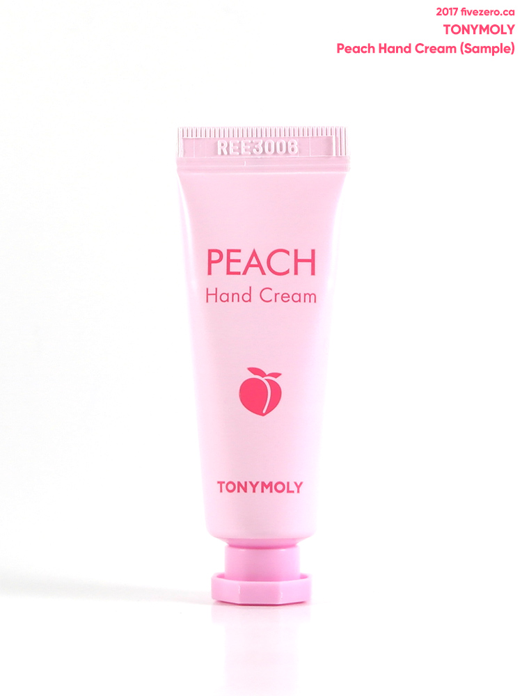 TonyMoly — Peach Hand Cream (sample)