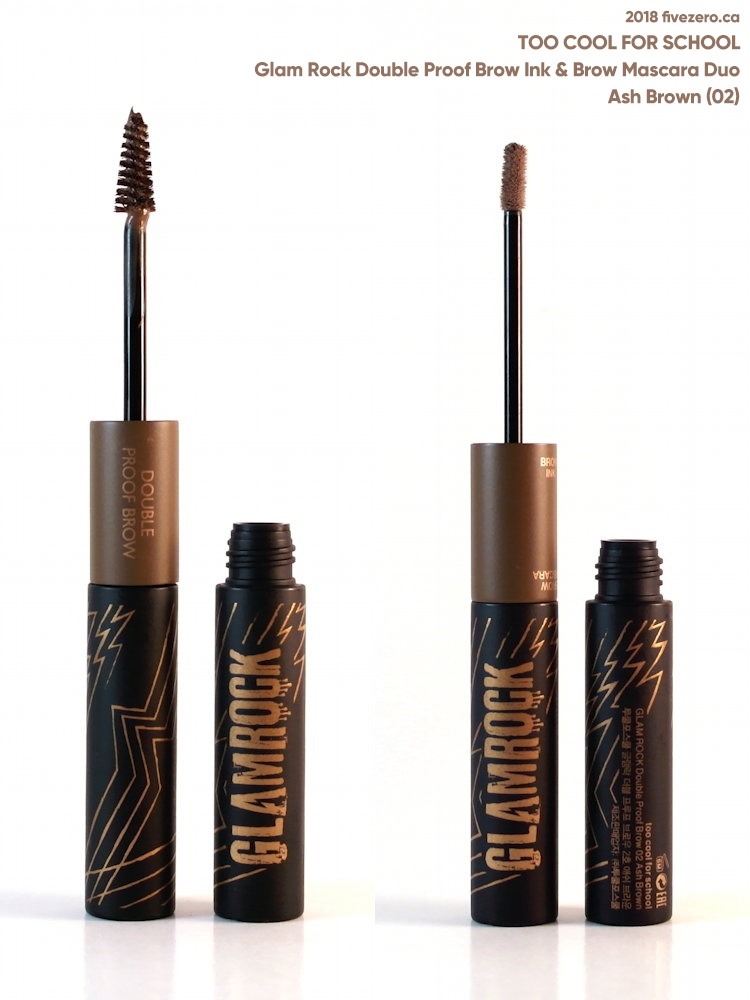 Too Cool for School Glam Rock Double Proof Brow in Ash Brown (02)