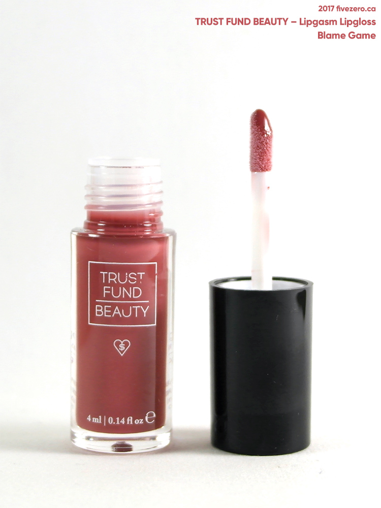 Trust Fund Beauty Lipgasm Lipgloss in Blame Game