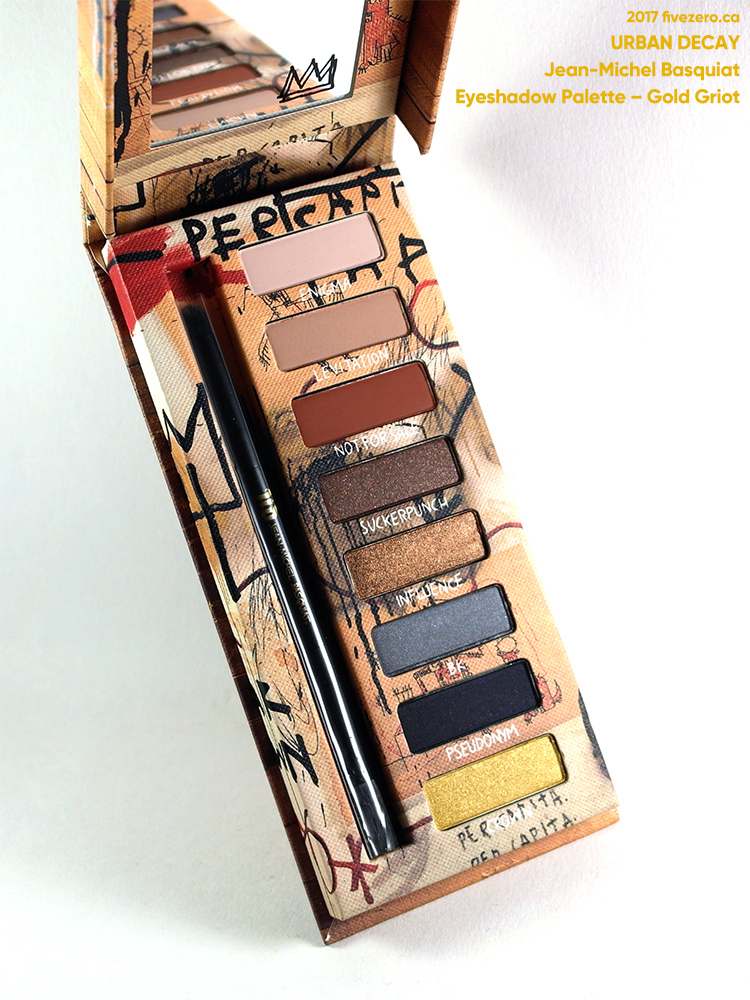 Urban Decay Jean-Michel Basquiat Eyeshadow Palette in Gold Griot