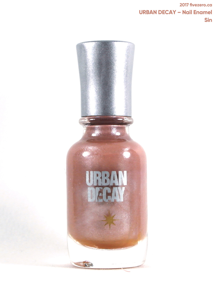 Urban Decay Nail Enamel in Sin