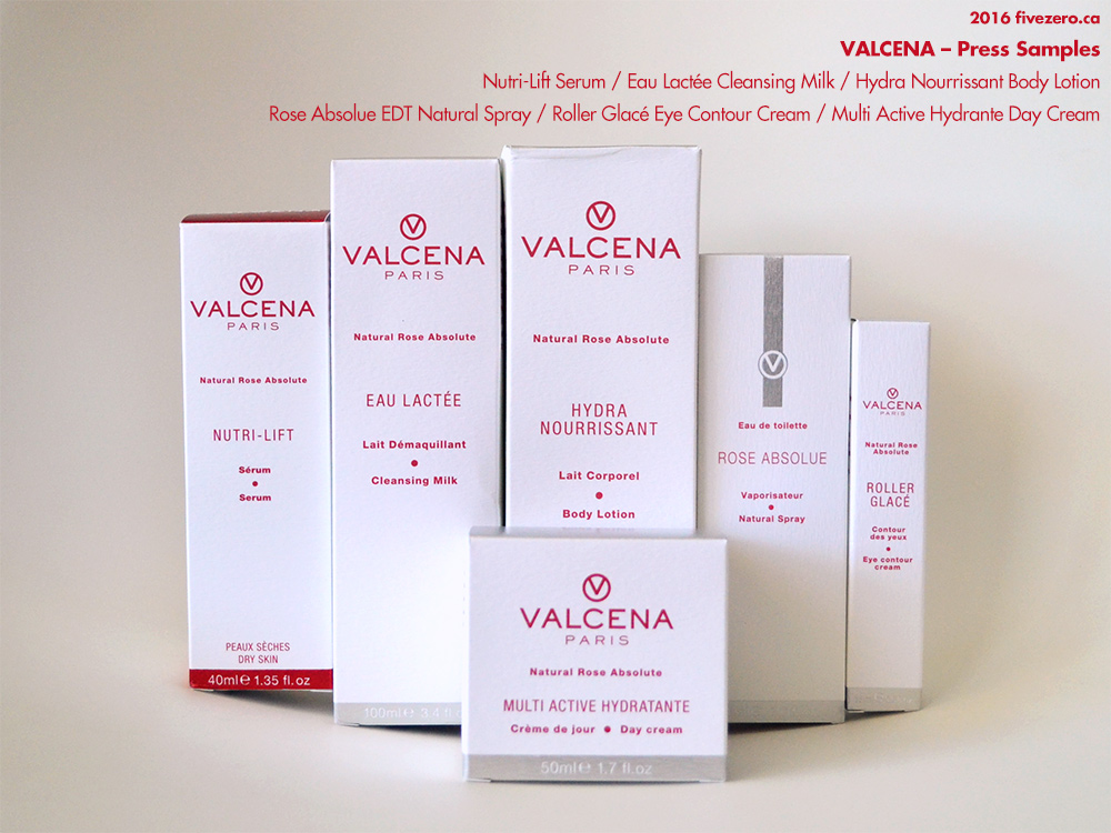 Valcena press samples 2016