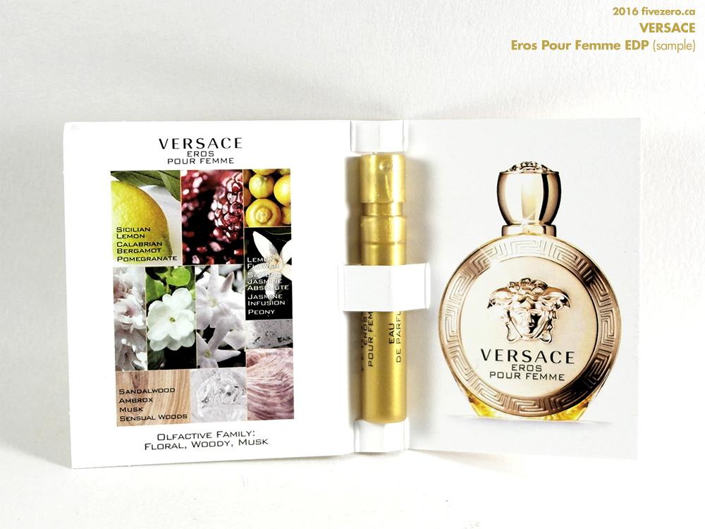 Versace Eros Pour Femme EDP (sample)