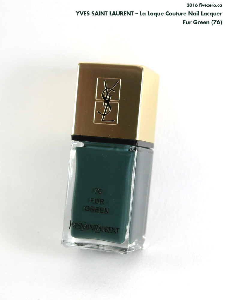 Yves Saint Laurent — Fur Green (La Laque Couture Nail ...