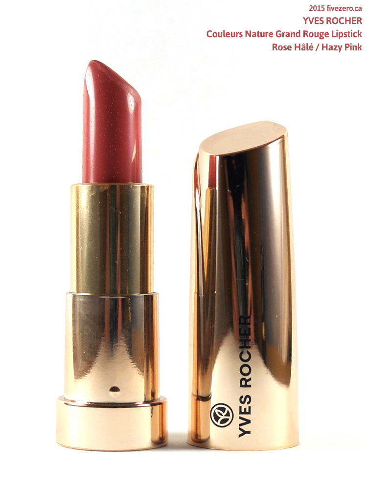 Yves Rocher Couleurs Nature Grand Rouge Lipstick in Hazy Pink