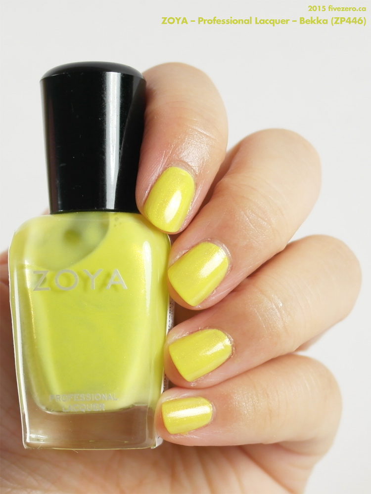 Zoya Professional Lacquer in Bekka, swatch
