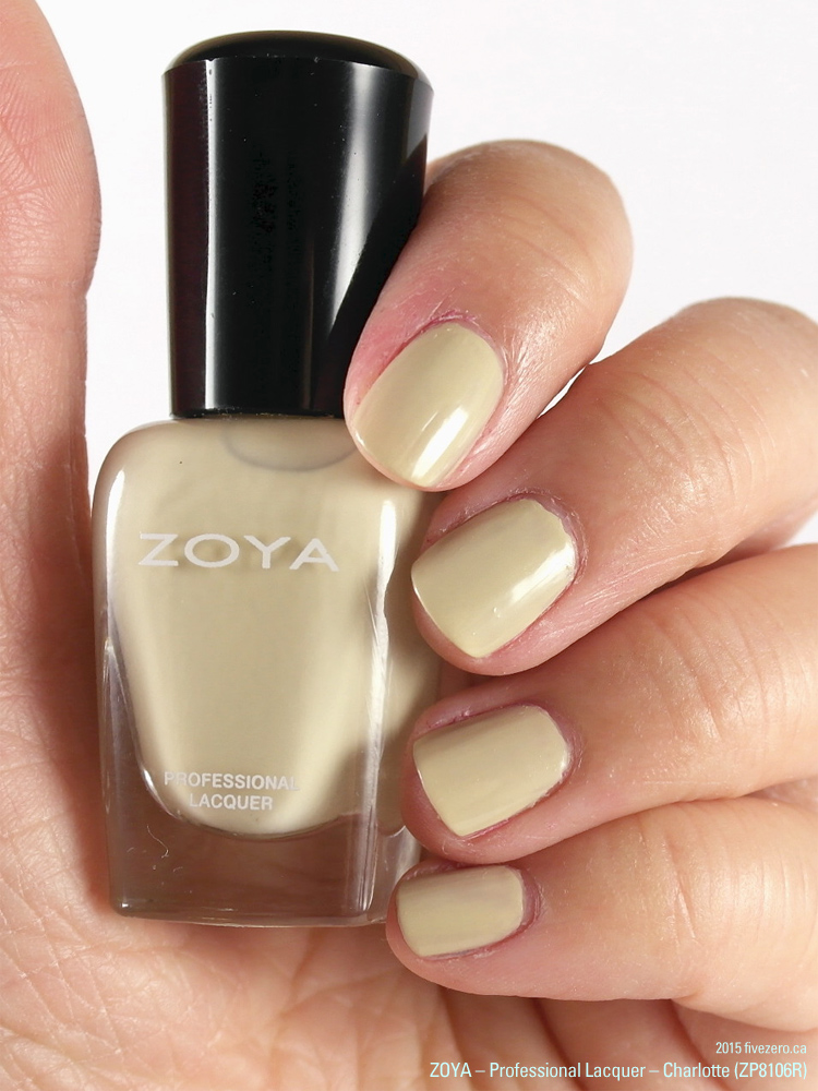 Zoya Professional Lacquer mini in Charlotte (Peter Som AW2014), swatch