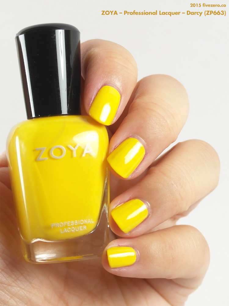 Zoya Professional Lacquer in Darcy, swatch