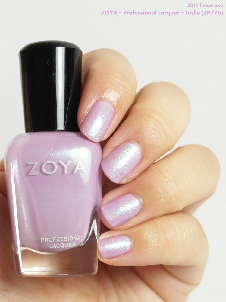 Zoya Professional Lacquer in Leslie, swatch