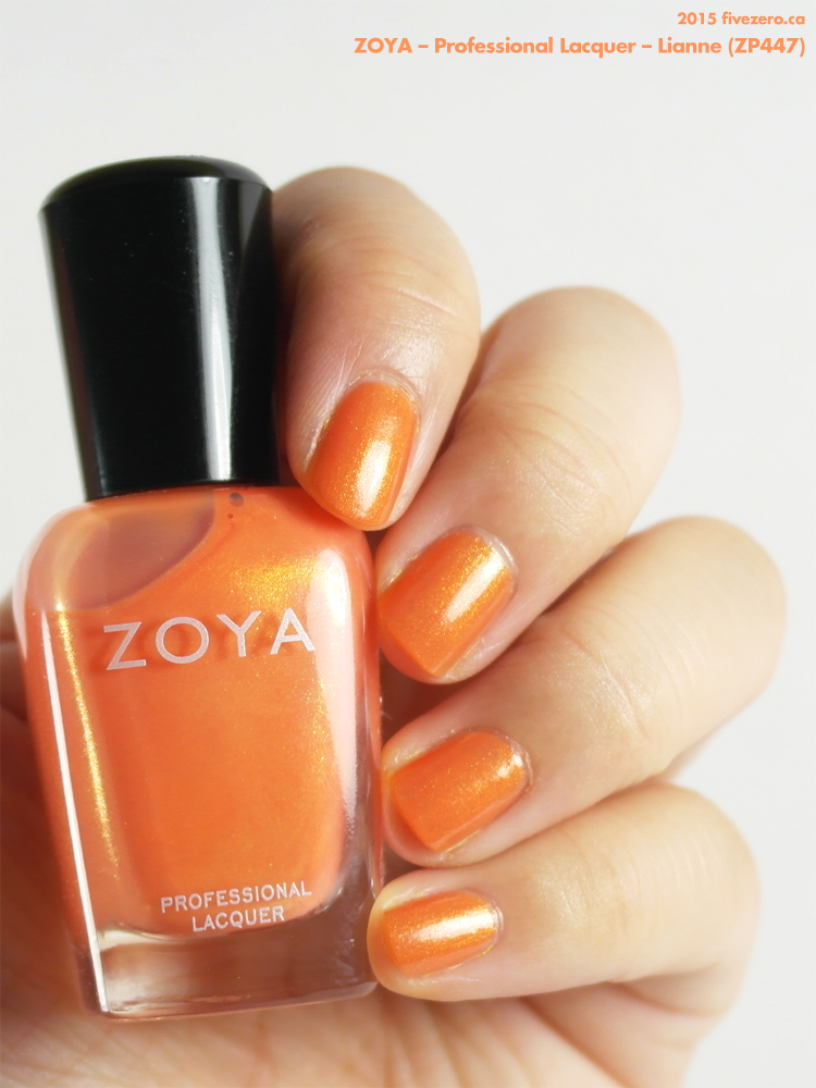 Zoya Professional Lacquer in Lianne, swatch