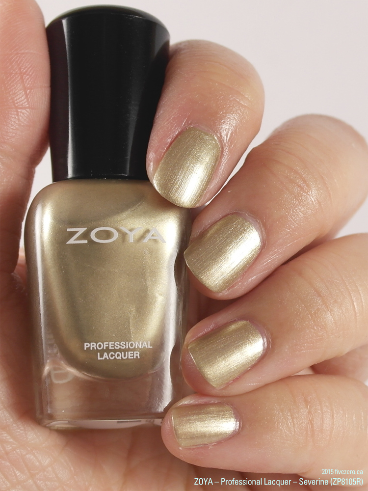 Zoya Professional Lacquer mini in Severine (Peter Som AW2014), swatch