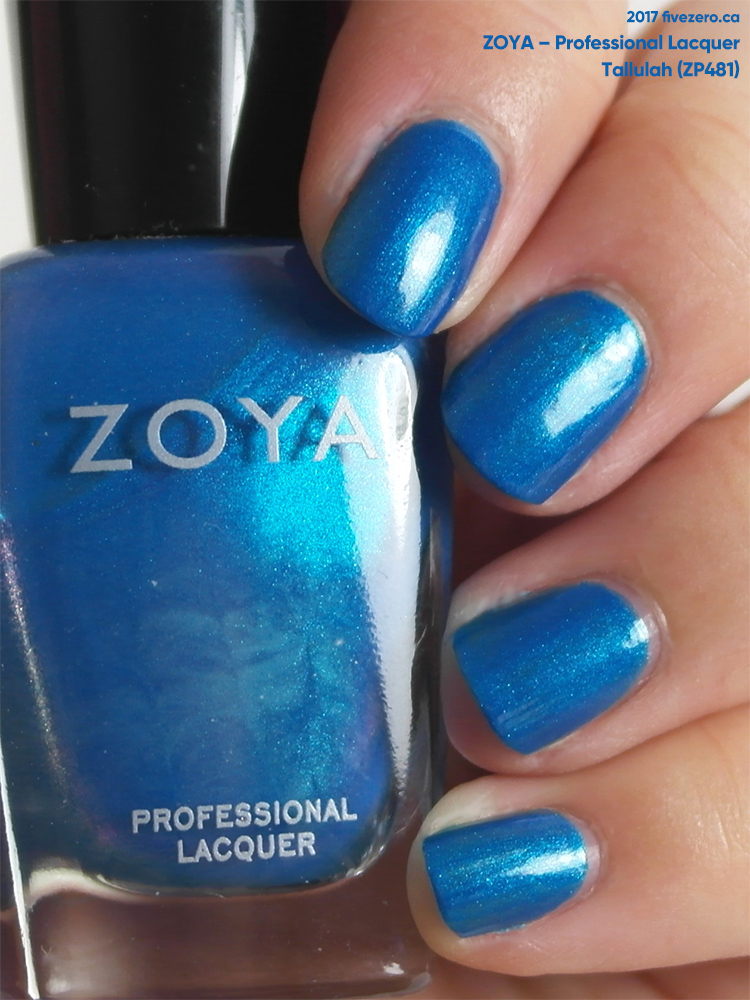 Zoya Professional Lacquer in Tallulah, swatch