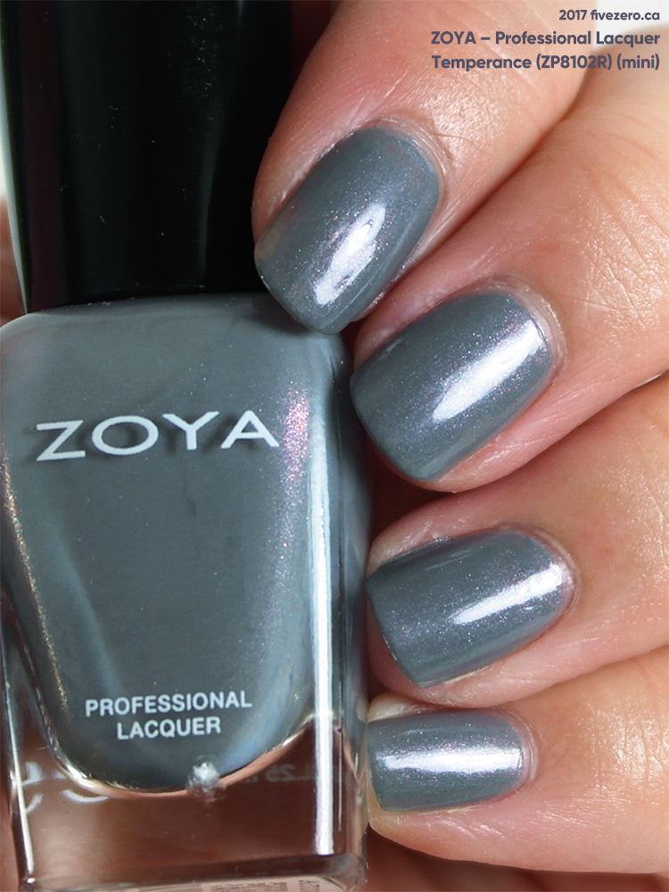 Zoya Professional Lacquer in Temperance (mini), swatch