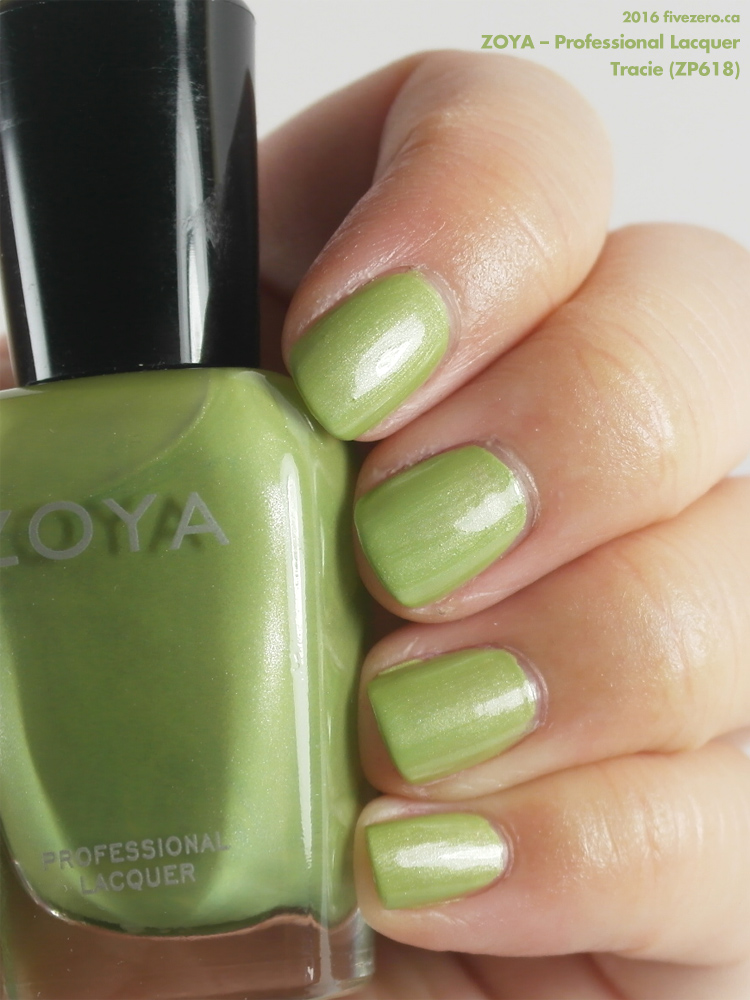 Zoya Professional Lacquer in Tracie, swatch