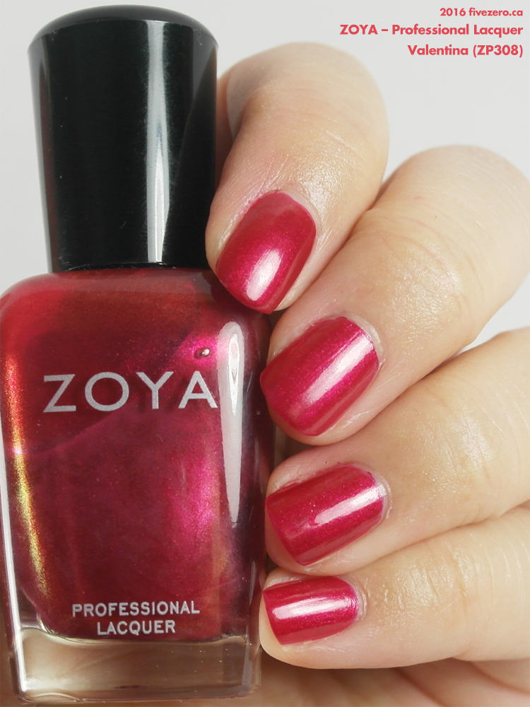 Zoya Professional Lacquer in Valentina, swatch