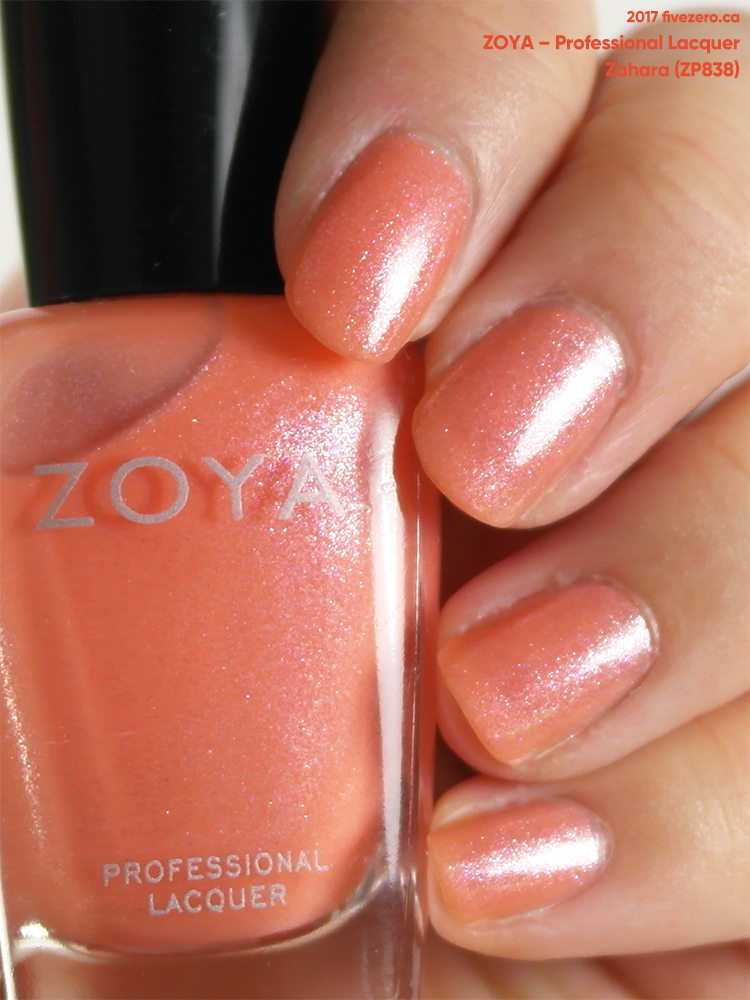 Zoya Professional Lacquer in Zahara, swatch