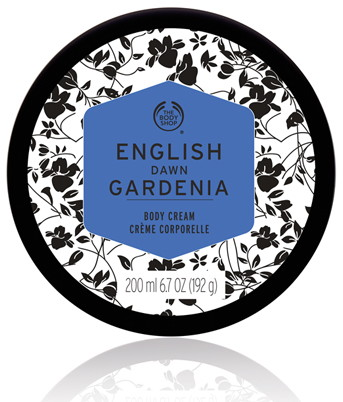 The Body Shop Body Cream in English Dawn Gardenia