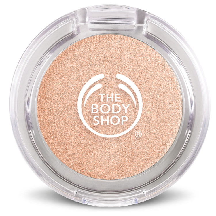 The Body Shop Colour Crush Eye Shadow in Gold Rosemance