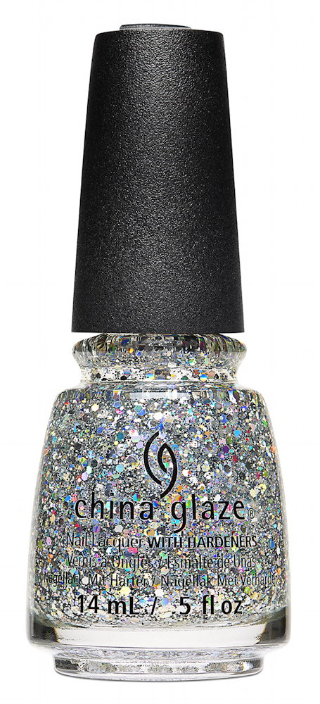 China Glaze Nail Lacquer in Disco Ball Drop
