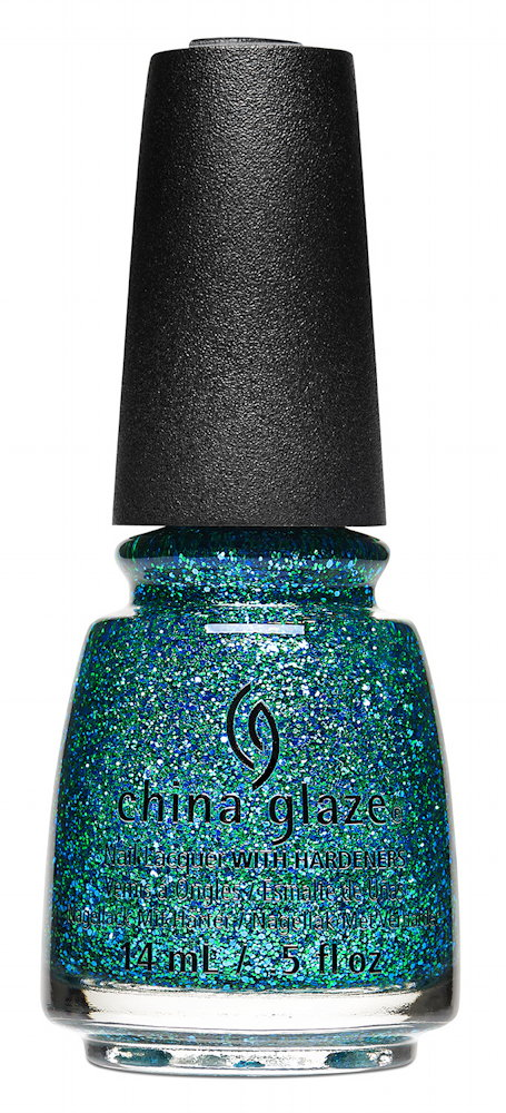 China Glaze Nail Lacquer in Teal the Fever