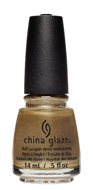 China Glaze Nail Lacquer in Truth Is Gold