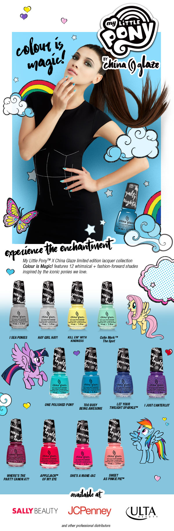 China Glaze My Little Pony collection (Summer 2017)