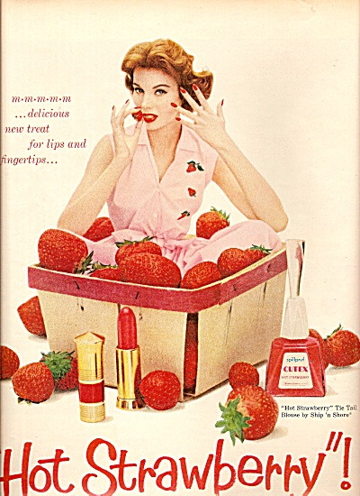 Cutex vintage nail polish ad