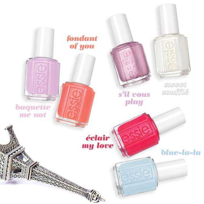 Essie Cafe Chic Society collection, Summer 2017