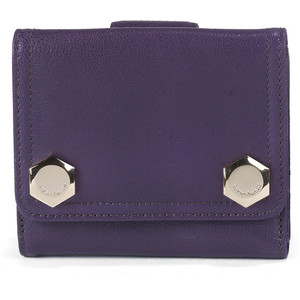 Hayden-Harnett Emile Indexer Wallet in Grape