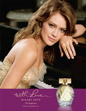 HILARY DUFF With Love EDP