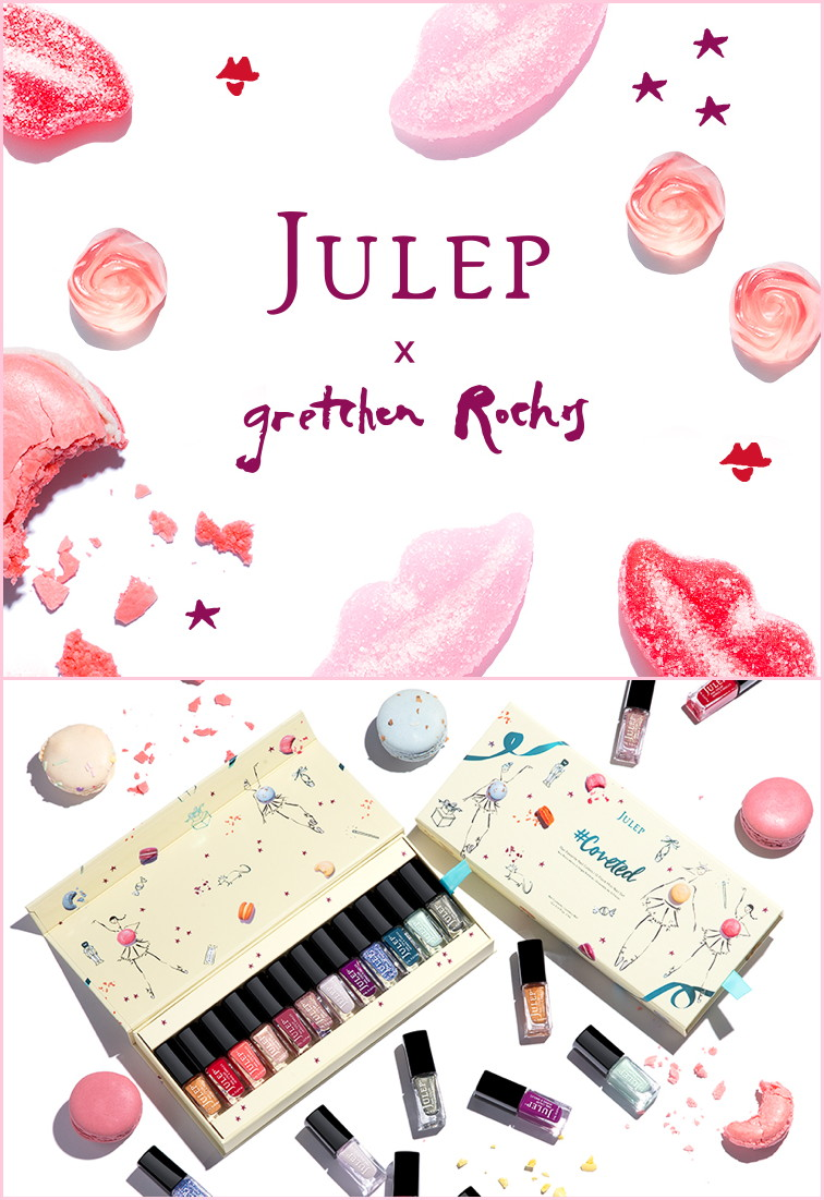 Julep Gift Boxes illustrated by Gretchen Röehrs (Holiday 2017)