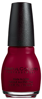 SinfulColors Nail Color in Berry Charm