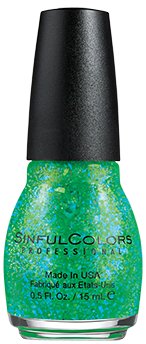 SinfulColors Nail Color in Green Ocean