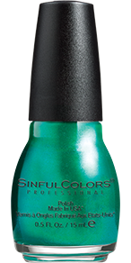 SinfulColors Nail Color in Jade Kat