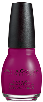 SinfulColors Nail Color in Poisonberry