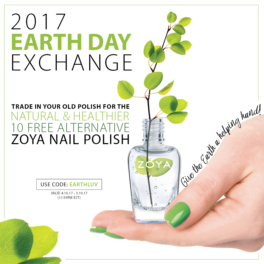 Zoya Earth Day Exchange 2017